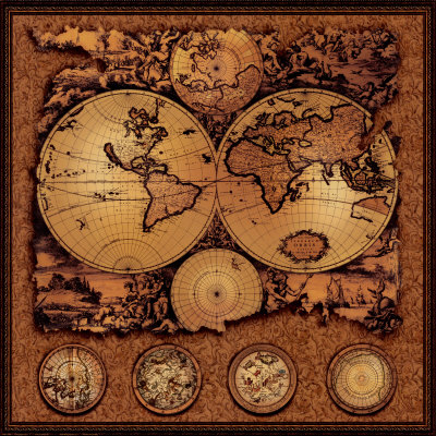 Antique-map-cartographica-iii
